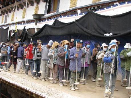 Na dachu świata - Tybet - Lhasa - pierwsze wrażenie 13