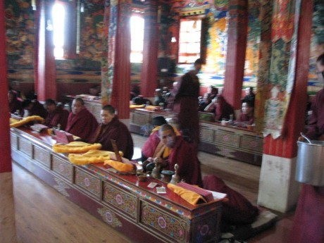 Tybet - Chimphu (Chim-puk) - miejsce domedytacji 4