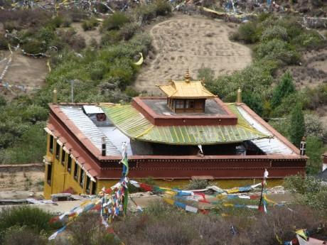 Tybet - Chimphu (Chim-puk) - miejsce domedytacji 7
