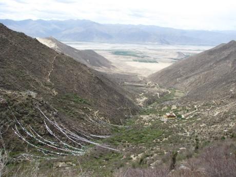 Tybet - Chimphu (Chim-puk) - miejsce domedytacji 8