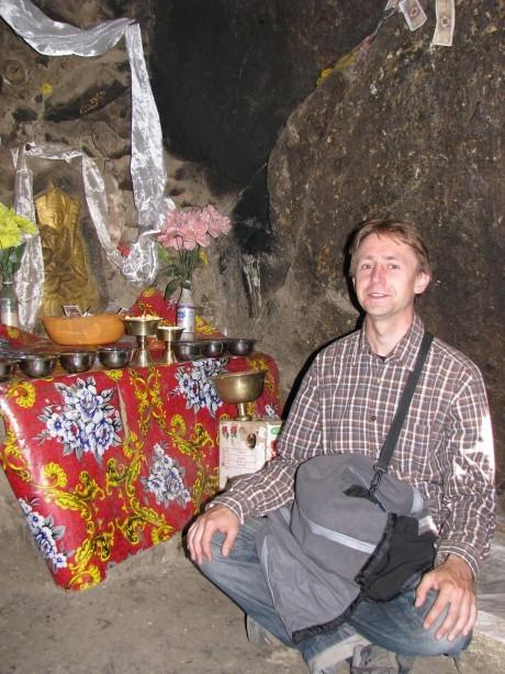 Tybet - Chimphu (Chim-puk) - miejsce domedytacji 13