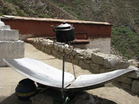 Tybet - Chimphu (Chim-puk) - miejsce domedytacji 15