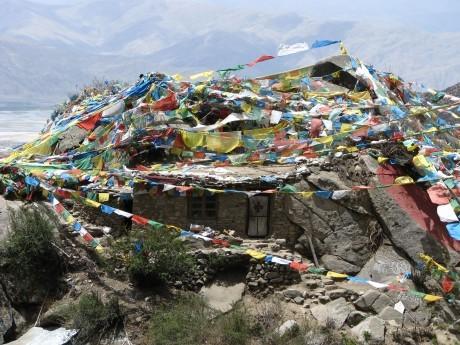 Tybet - Chimphu (Chim-puk) - miejsce domedytacji 16