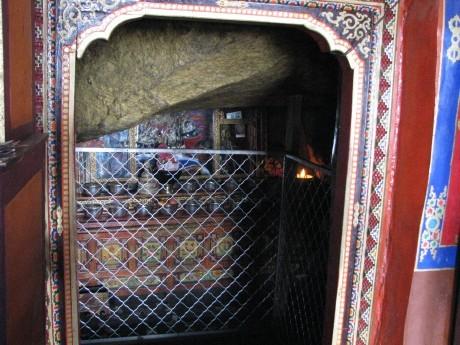 Tybet - Chimphu (Chim-puk) - miejsce domedytacji 23