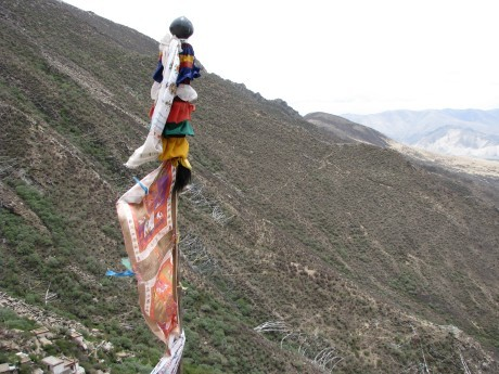 Tybet - Chimphu (Chim-puk) - miejsce domedytacji 24