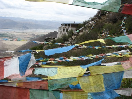 Tybet - Chimphu (Chim-puk) - miejsce domedytacji 25