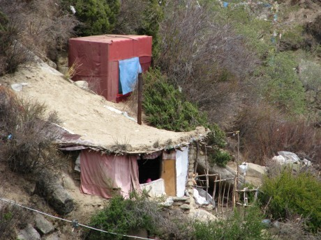 Tybet - Chimphu (Chim-puk) - miejsce domedytacji 30