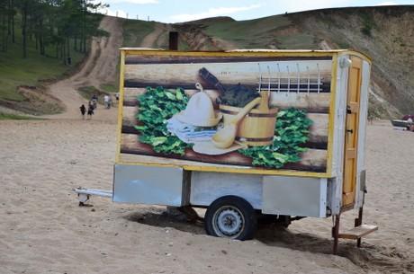 Ruska bania plażowa