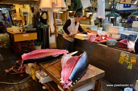 Market Tsukiji Tokio