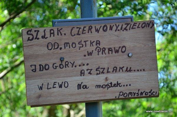 Główny Szlak Beskidzki; Bacówka PTTK wBartnem - Chyrowa (Hyrowa) 7