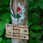 Główny Szlak Beskidzki; Bacówka PTTK wBartnem - Chyrowa (Hyrowa) 1