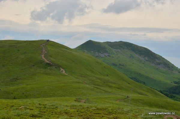 Główny Szlak Beskidzki; Połonina Wetlińska - Wołosate 18
