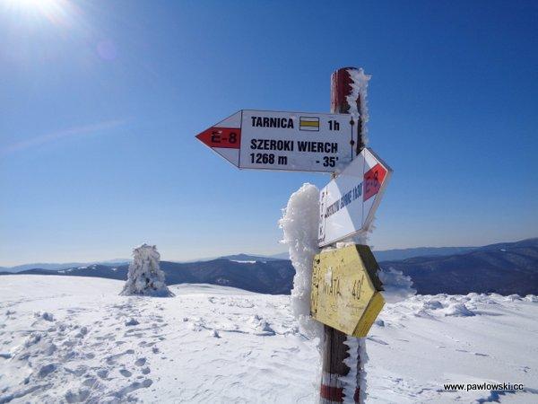 Ustrzyki Górne - Tarnica - Wołosate 21