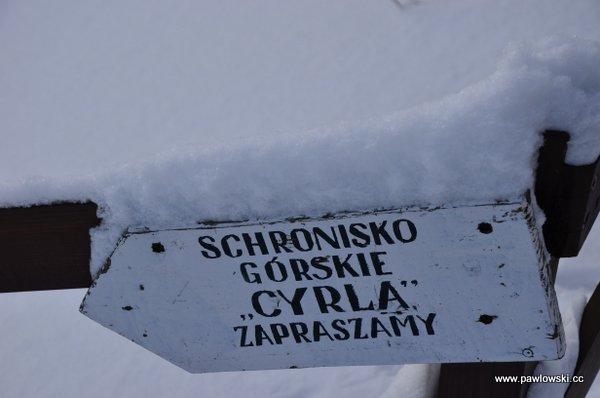 Schronisko górskie Cyrla 12