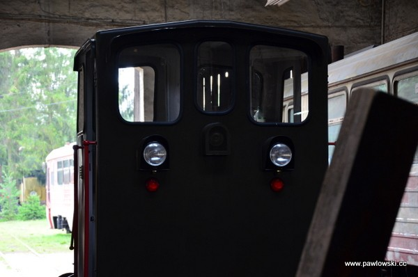 Zabytkowa Stacja Kolejki Wąskotorowej Rudy