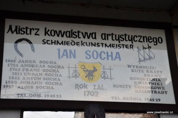Kuźnia rodziny Sochów