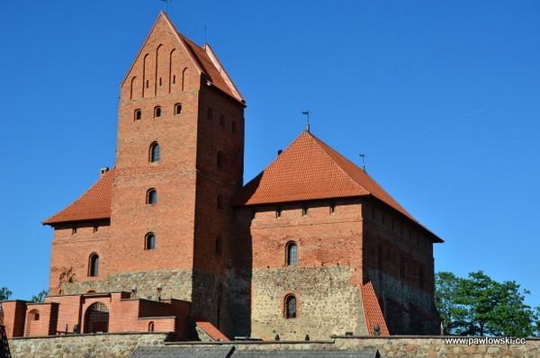 Zamek wTrokach