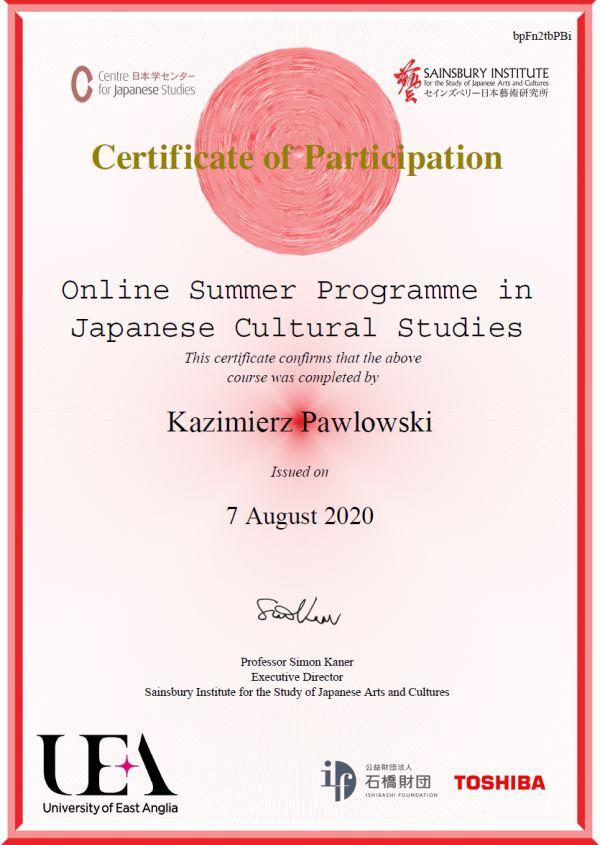 SISJAC-certyfikat