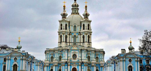 Sobór Smolny w St. Petersburgu