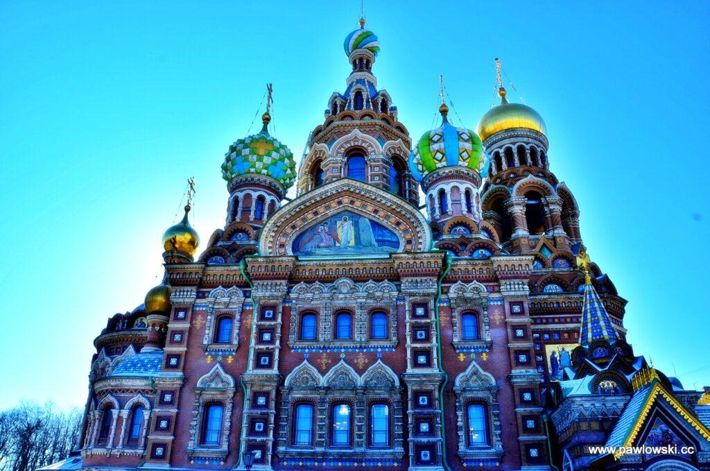 Sobór Zmartwychwstania Pańskiego w Sankt Petersburgu