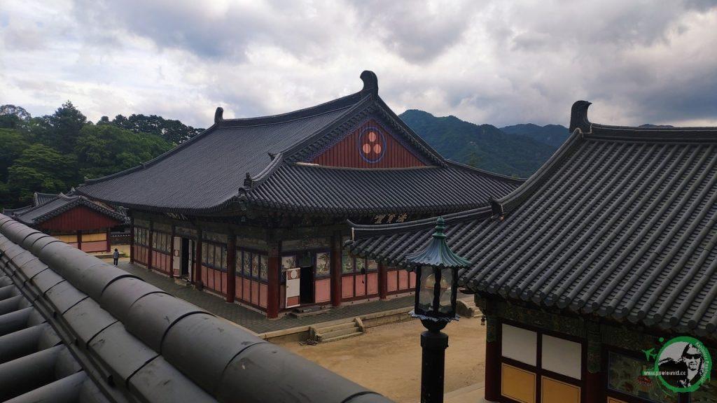 Korea Południowa - Haeinsa inocleg wświątyni buddyjskiej 1